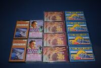 12 cassettes 4 Big Band Gold The 40's 4 new Glenn Miller Hits 2 1 new 2 Big Band