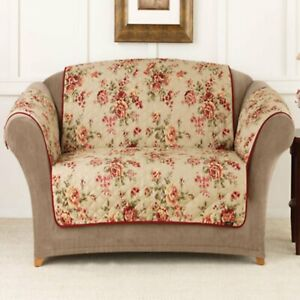 Sure Fit Lexington Floral Loveseat Pet Throw new