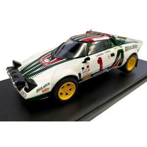 1:24 Lancia Stratos Munari Rally Monte Carlo 1977 Ixo Salvat Diecast
