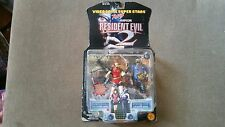 Resident Evil Claire Redfield & Zombie Cop 5 Inch 1998 Action Figures Toybiz NEW