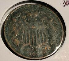 1864 2 Cent Piece Large Motto - Civil War Coin - AU/UNC Details