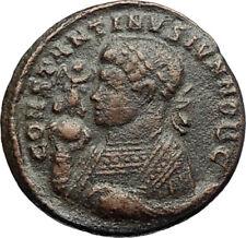 CONSTANTINE II Jr 321AD Trier Authentic Ancient Genuine Roman Coin ALTAR i70716