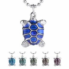 1PC Magic Color Change Jewelry Turtle Thermo Mood Pendant Necklace Friends Gift