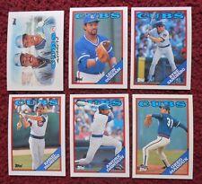 1988 Topps Chicago Cubs Baseball Team Set (31 Cards) ~ Greg Maddux Ryne Sandberg