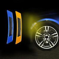 2x Effective Practical Car Door Edge Guard Reflective Sticker Tape Warning Decal