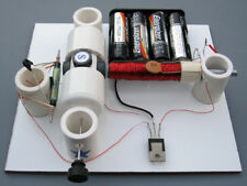 DIY SIMPLE REED SWITCH/TRANSISTOR MOTOR KIT #5 SCIENCE FAIR PROJECT  EDUCATIONAL