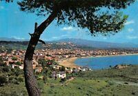 Cartolina Scauri Panorama da Monte d'Oro