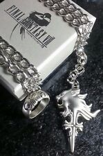 Final Fantasy VIII Squall Griever Necklace & Ring FF8 XV 15 Cosplay Cloud Anime