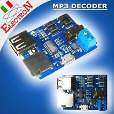 MP3 DECODER AUDIO PLAYER AMPLIFIER BOARD U DISK/ SD TF CARD MODULE USB 2W