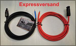 Solarkabel Kabel Photovoltaik PV 4mm² 6mm² PV Made in Germany Solarstecker NEU