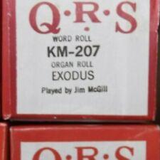 Qrs Kimball Electramatic Player Organ Roll Exodus Nos Rare Km -20 00004000 7