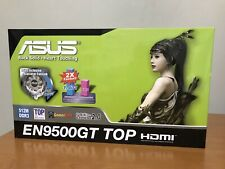 ASUS NVIDIA GeForce 9500 GT (EN9500GTTOPDI512MA) 512 MB DDR3  PCI Graphics Card