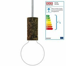 NUD COLLECTION pendule Lampe Cork Soil Silver Cloud