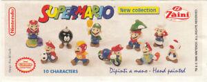 Vintage Zaini Minifigures: Super Mario Series (1996/2000) - Choose a Character!