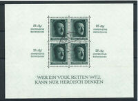 Allemagne Bloc N°10 Obl (FU) 1937