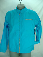 "New Mens Quiksilver Large ""Teamster"" Blue Party Cotton Jacket $70"