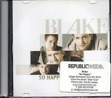 Blake 'So Happy' Rare 1 track CD single