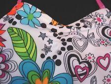 JANTZEN UPF 50 One 1 Piece Swimsuit Multi Color $48 Girls Sz 6 NWT