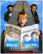 MAMAN J'AI ENCORE RATE L'AVION Affiche Cinéma Pliée 80x60 Movie Poster JOE PESCI
