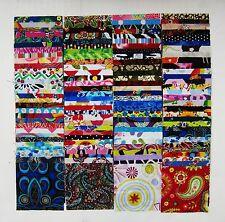 "150  Assorted precut charm pack 3.5"" squares 100% cotton fabric quilt scrap"