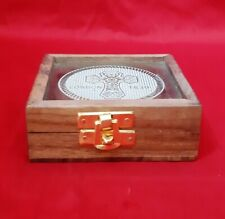 Vintage Brass Pocket Compass Outdoor Travel Directional Nautical London 1839