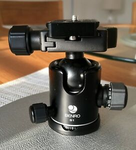 Camera Ball Head - Heavy Duty - Benro B1 Triple Action