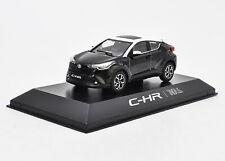 1/43 Toyota CHR C-HR Black Diecast Car model Collection Toy