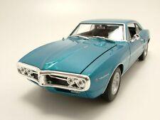 Pontiac Firebird 1967 blau metallic, Modellauto 1:24 / Welly