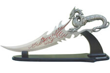 "21.5"" Fire Dragon Dagger with Display Stand Brand New"