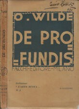 De profundis. . Oscar Wilde. 1919. IIED.