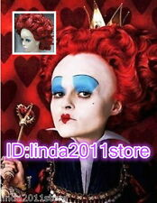 "Ladies Cosplay wig ""Alice in Wonderland"" Queen of Hearts/The Red Queen cos Wigs"