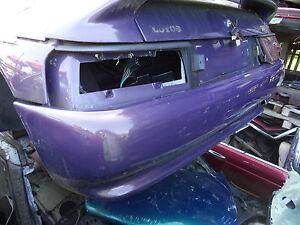 LOTUS ELAN S2 PURPLE REAR BUMPER DAMAGED SPARES OR REPAIRS