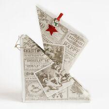 50 Spitztüten Papierspitztüten Nostalgie Vintage Weihnachts-Spitztüten Mandeln
