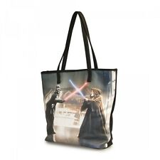 Star Wars Darth Vader & Obi-Wan Photo Real Tote NEW Carrier Loungefly