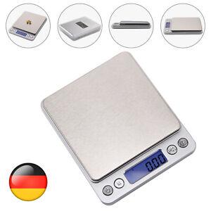 0.01-500g Mini Waage Digital LCD Feinwaage Taschenwaage Goldwaage Präzisionwaage