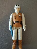 Vintage 1980 Star Wars Hoth Rebel Soldier Action Figure
