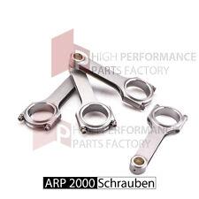 Stahlpleuel H - Schaft 144/20mm für VW 16V 20V 4 Zyl. PL KR ARP 2000 Schrauben