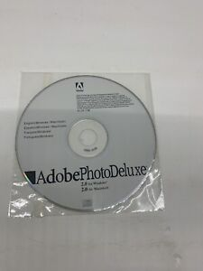 Adobe Photo Deluxe v2.0 Windows/Mac DISC ONLY