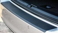 Ladekantenschutz für VW GOLF SPORTSVAN Lackschutz Carbon Schwarz 3D 160µm