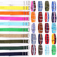 20mm Premium Quality Nylon Wrist Watch Band Straps Fits J. Crew Timex Weekender