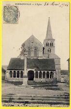 cpa 51 - HERMONVILLE (Marne) L' ÉGLISE Edition des COMPTOIRS FRANÇAIS