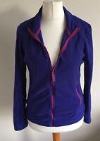 George at Asda Size 10 Ladies Long Sleeve Purple Fleece Top