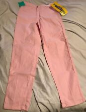 Vintage Brittania Stretch Jeans - Junior - Pink - Size 9 - L 28 - New with Tags