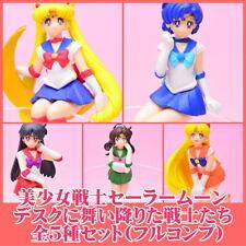 Bishoujo Senshi Sailor Moon landed Sitting Decorate Your Desk Figurine Set of 5