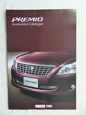 Toyota Japón-Premio Accessories Catalogue-folleto brochure 2007
