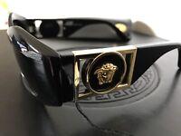 Auth Gianni Versace Vintage Sunglasses Lunettes Mod.422/B Col.852 Black NOS!!