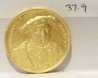 Henry VIII Dassier RESTRIKE Medallion Kings & Queens of England Series (37.9)