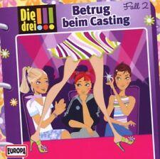 CD * DIE DREI !!! (AUSRUFEZEICHEN) - 2 - BETRUG BEIM CASTING # NEU OVP =