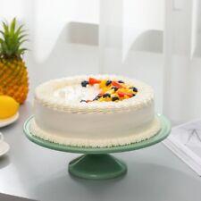 "12.9"" Jadeite Glass Cake Stand - 12.9"" Jadeite Glass Cake Stand"