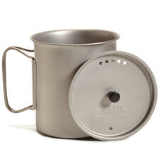 Vargo TI-Lite Boiler Becher Tasse 0,9l Kochgefäß Deckel Pfanne Trinkgefäß Campi